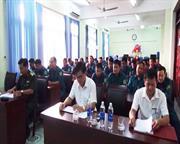 Bế mạc lớp huấn luyện đại đội pháo 37mm lực lượng Dân quân tự vệ Công ty Điện lực tỉnh Cao Bằng năm 2017