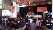 Giao ban Cụm an ninh liên hoàn khu vực giáp ranh 3 huyện: Nguyên Bình (Cao Bằng) - Ba Bể - Pắc Nặm (Bắc Kạn)