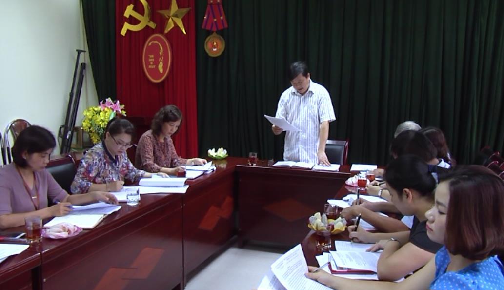 Giám sát công tác tuyển dụng, quản lý, sử dụng công chức, viên chức tại Phòng GD&ĐT thành phố