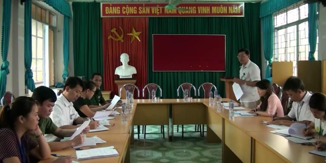 Trùng Khánh: Kiểm tra tình hình hoạt động tín ngưỡng, tôn giáo tại các xã