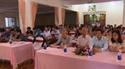 Tập huấn nghiệp vụ quản lý khách sạn, lễ tân cho 70 cán bộ quản lý và nhân viên