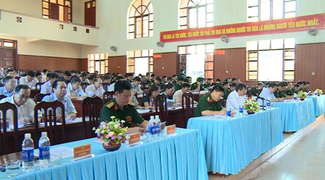 UBND tỉnh: Tổng kết thực hiện Luật Dân quân tự vệ