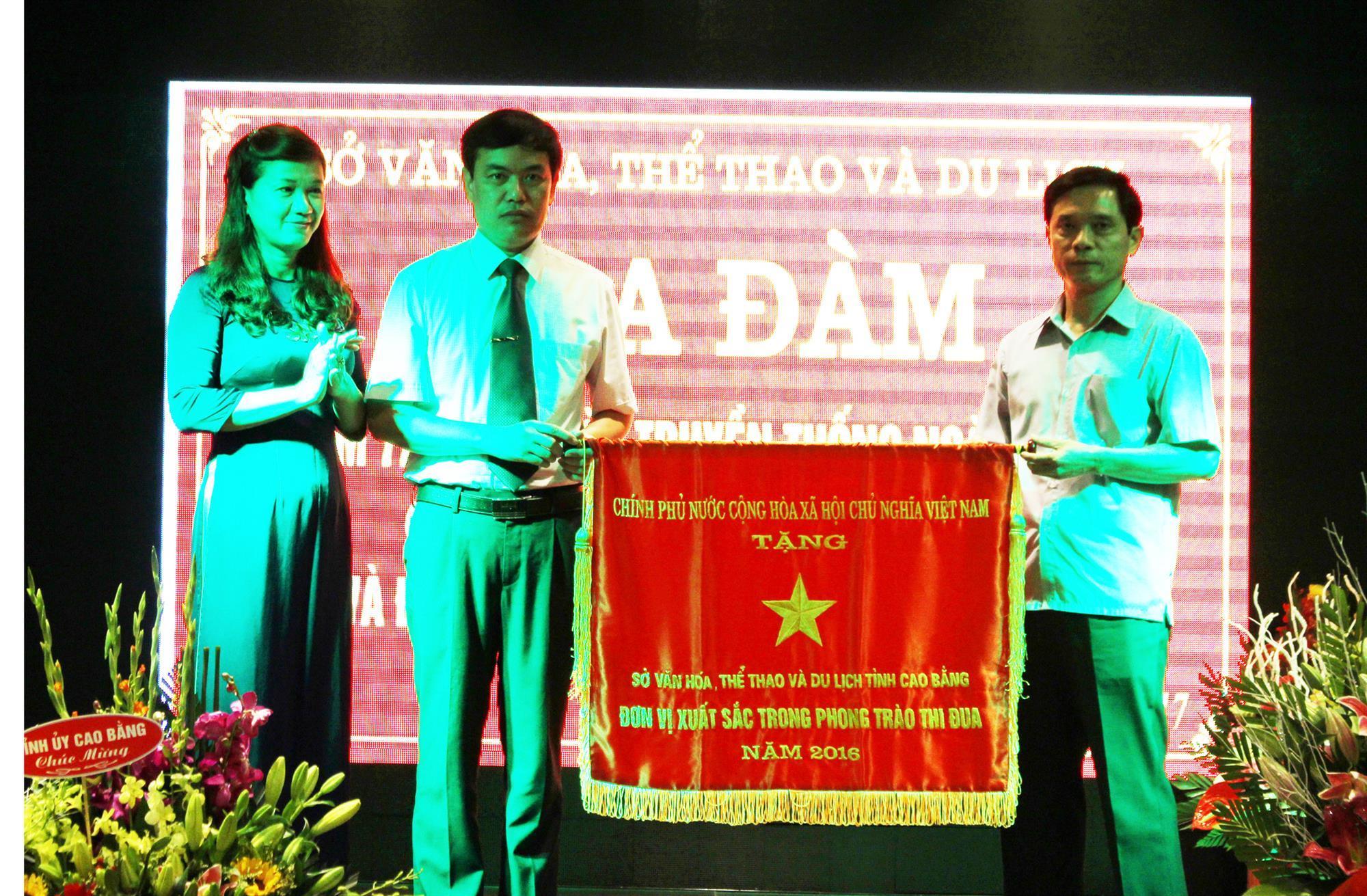 Sở VH-TT&DL: Toạ đàm kỷ niệm 72 năm Ngày truyền thống và đón nhận Cờ thi đua của Chính phủ