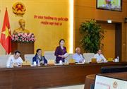 Ngày 11/9, khai mạc Phiên họp thứ 14 của Ủy ban thường vụ Quốc hội