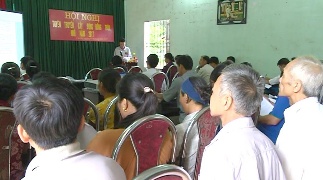 Tập huấn ứng dụng tiến bộ khoa học kỹ thuật về xây dựng nông thôn mới tại Quảng Uyên