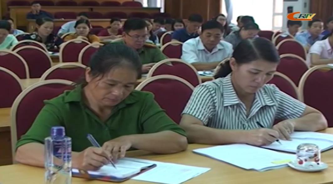 Thạch An: Hội nghị triển khai các văn bản pháp luật mới ban hành