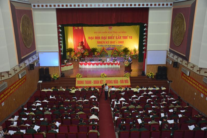 Đại hội Hội Cựu chiến binh tỉnh lần thứ VI, nhiệm kỳ 2017 - 2022
