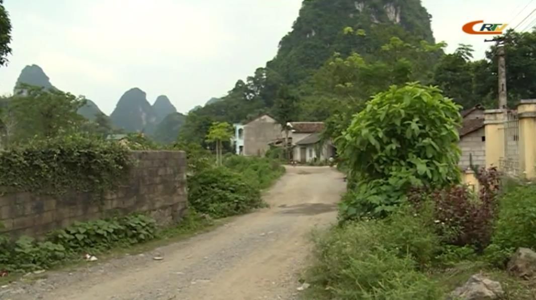 Quảng Uyên: Xã Cai Bộ đạt 8/19 tiêu chí nông thôn mới