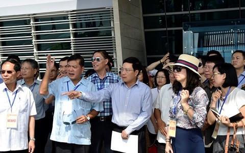 Phó Thủ tướng Phạm Bình Minh chủ trì sơ duyệt tuần lễ APEC 2017