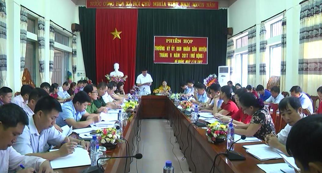 Hà Quảng: Triển khai nhiệm vụ 3 tháng cuối năm