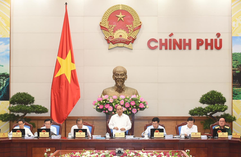 Thông cáo báo chí phiên họp Chính phủ thường kỳ tháng 9/2017