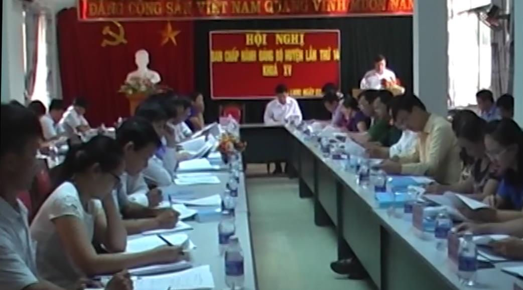 Hạ Lang: Hội nghị Ban Chấp hành Đảng bộ huyện lần thứ 14 (mở rộng)