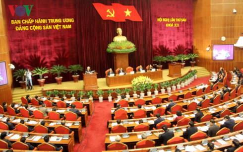 Ngày làm việc thứ 3 Hội nghị Trung ương 6