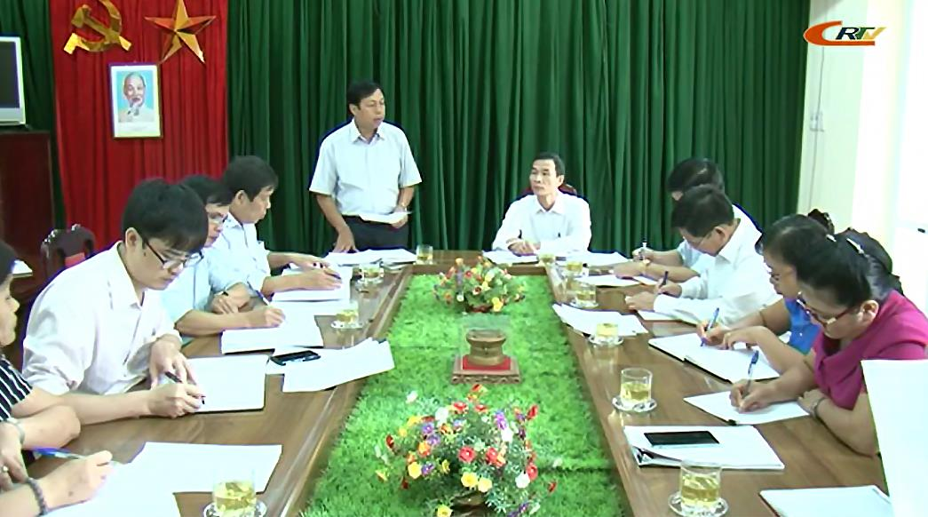 Kiểm tra việc việc học tập, quán triệt, triển khai thực hiện Nghị quyết số 04-NQ/TƯ (khoá XII) tại Đảng ủy Khối Các cơ quan tỉnh