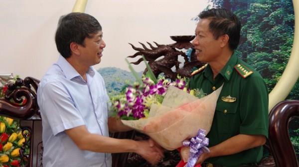 Đảng ủy Bộ Chỉ huy BĐBP tỉnh Cao Bằng: Bàn giao chức trách, nhiệm vụ Chính ủy Bộ đội Biên phòng tỉnh