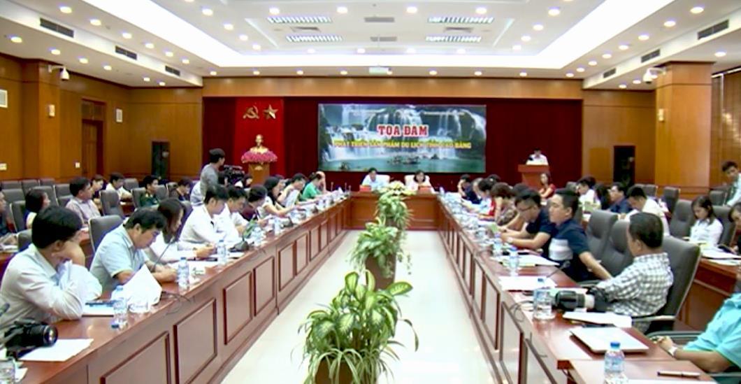 Tọa đàm phát triển sản phẩm du lịch tỉnh Cao Bằng