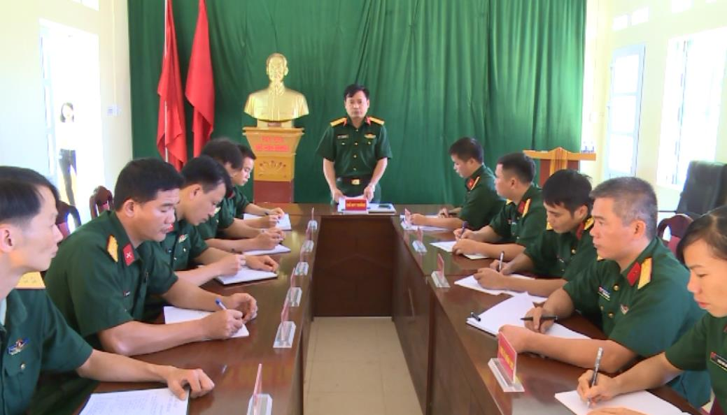Ban CHQS huyện Hòa An: Đẩy mạnh học tập và làm theo tư tưởng, đạo đức, phong cách Hồ Chí Minh gắn với thực hiện nhiệm vụ