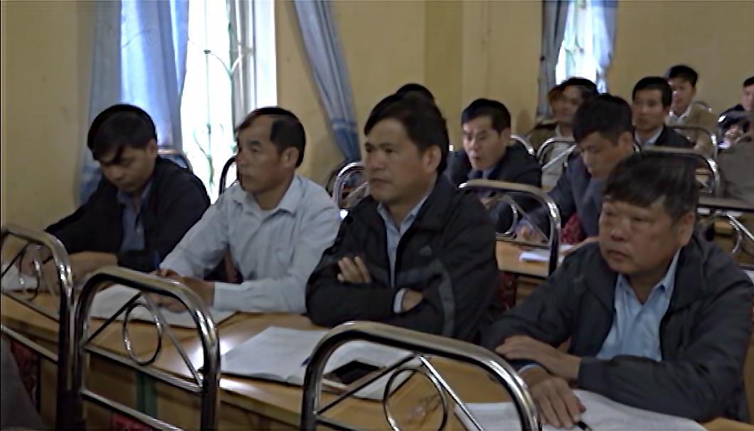 Quảng Uyên: Bồi dưỡng nghiệp vụ công tác Đảng bí thư, phó bí thư chi bộ