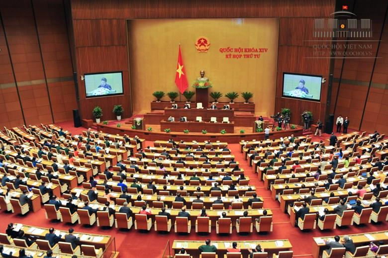 Thông cáo số 2 kỳ họp thứ 4, Quốc hội khóa XIV