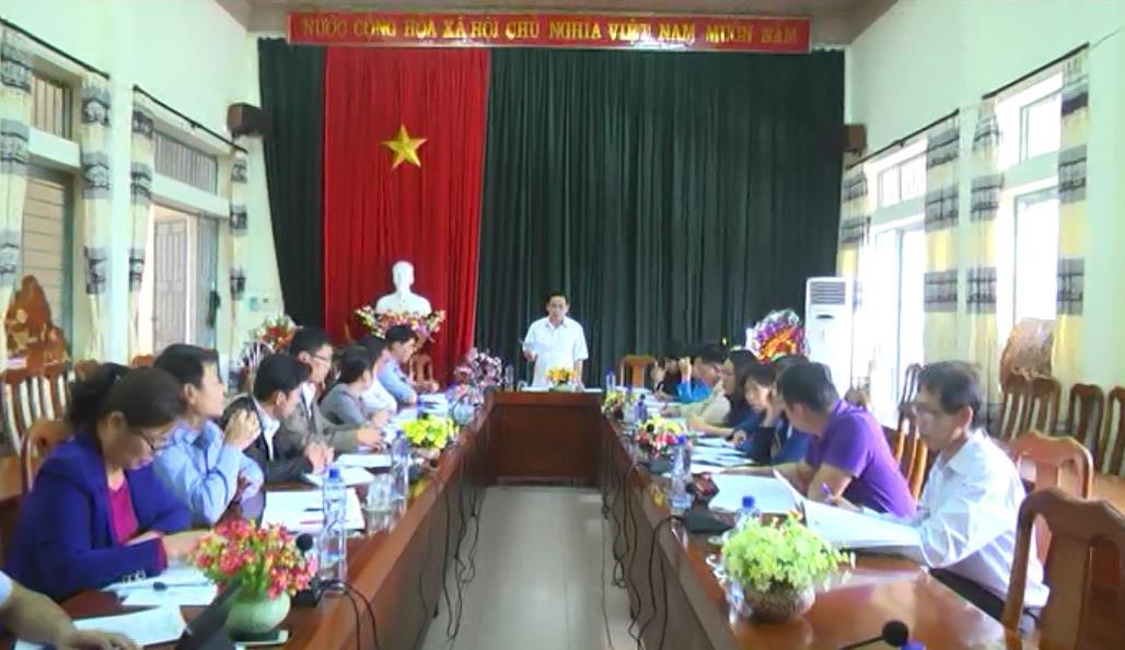 Hà Quảng: Giám sát triển khai và kết quả thực hiện Chương trình Mục tiêu quốc gia xây dựng nông thôn mới