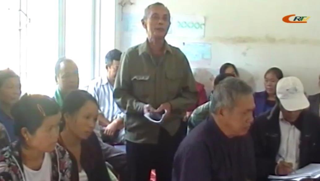 Hạ Lang: Đại biểu HĐND huyện tiếp xúc cử tri trước kỳ họp thứ 5