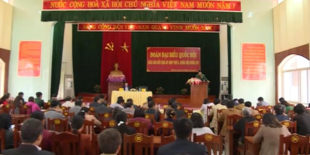 Đại biểu Quốc hội tỉnh tiếp xúc cử tri huyện Bảo Lạc, Bảo Lâm