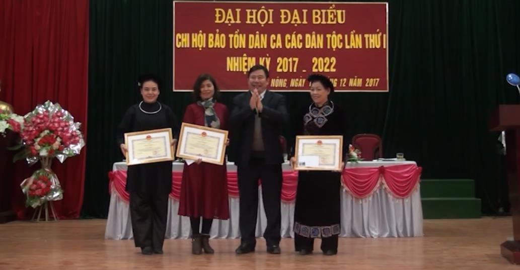 Hội Bảo tồn dân ca các dân tộc huyện Thông Nông: Thu hút, tập hợp hơn 100 hội viên tham gia sinh hoạt