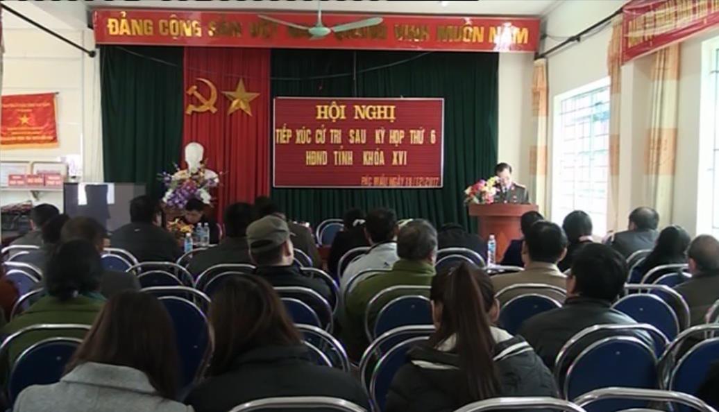 Đại biểu HĐND tỉnh tiếp xúc cử tri huyện Bảo Lâm