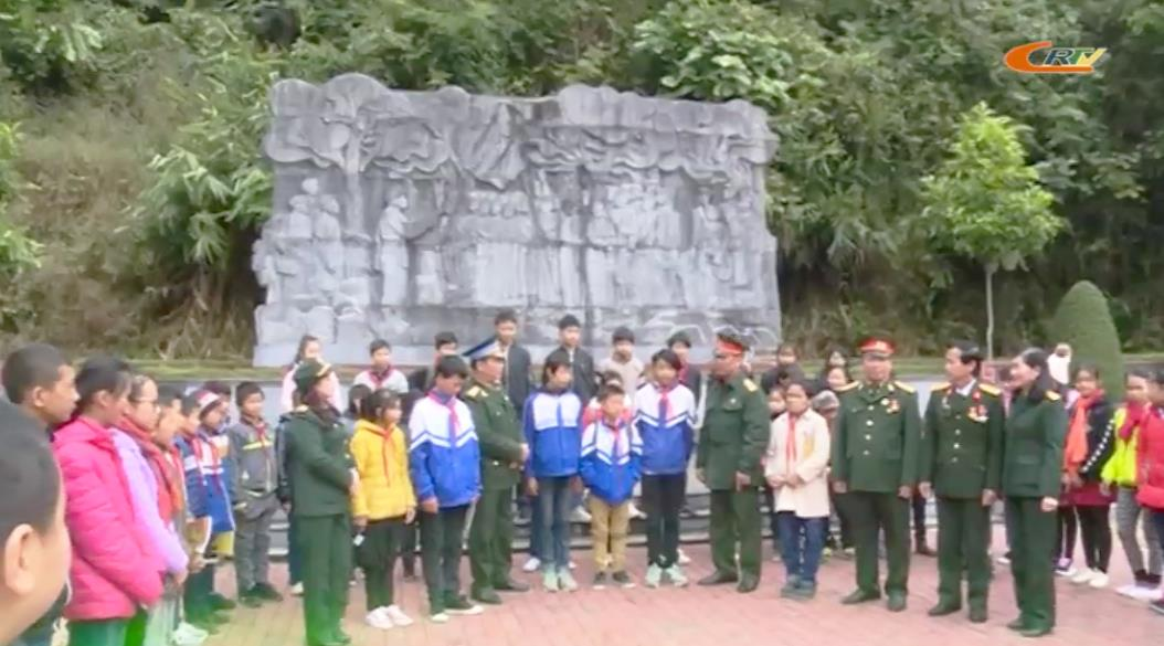 Khu di tích Quốc gia đặc biệt rừng Trần Hưng Đạo đón tiếp 700 lượt khách tham quan