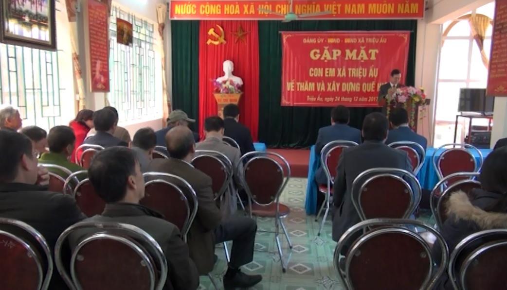 Phục Hòa: Xã Triệu Ẩu huy động đóng góp xây dựng nông thôn mới