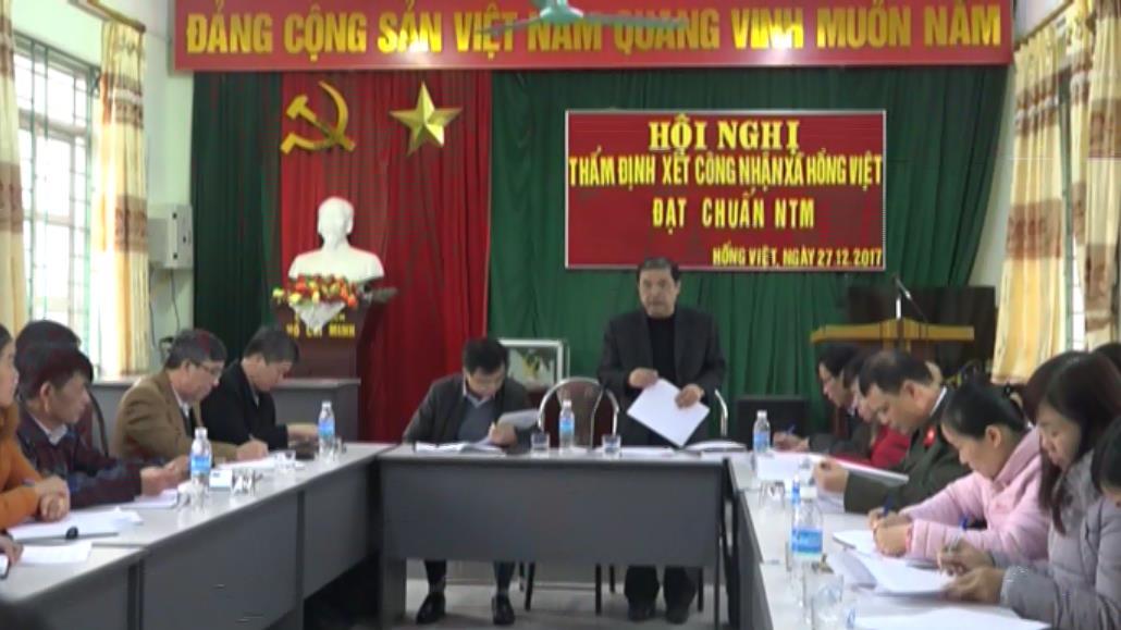 Hòa An: Xã Hồng Việt và Nam Tuấn hoàn thành 19/19 tiêu chí nông thôn mới