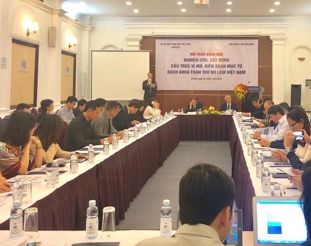 Biên soạn Bách khoa toàn thư Việt Nam chuyên ngành du lịch