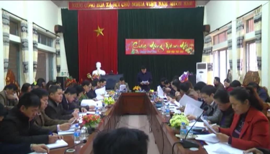 Hà Quảng: Tiếp tục củng cố các tiêu chí nông thôn mới
