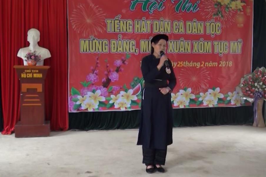 Phục Hòa: Xã Mỹ Hưng tổ chức Hội thi Hát dân ca dân tộc mừng Đảng, mừng Xuân 2018