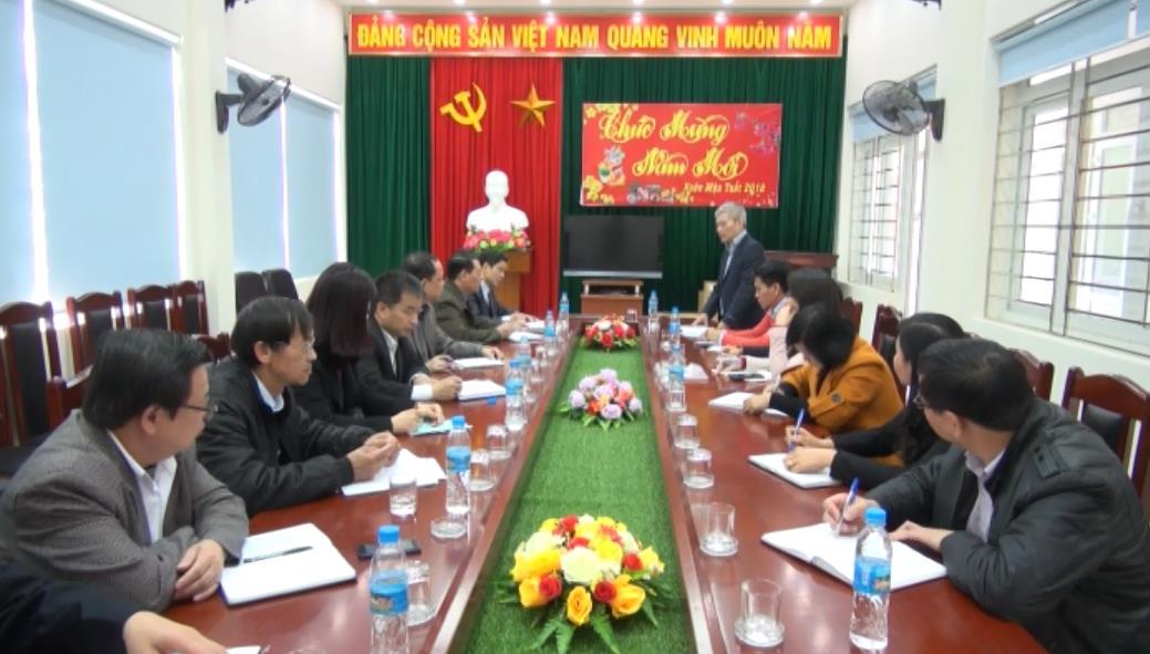 Tăng cường chương trình phối hợp giữa Đài PTTH Cao Bằng và Ban Truyền hình Tiếng dân tộc, Đài Truyền hình Việt Nam