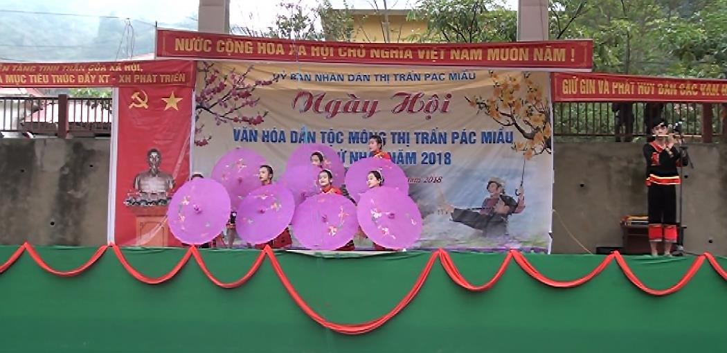Bảo Lâm: 13/14 xã, thị trấn tổ chức Ngày hội văn hóa dân tộc Mông