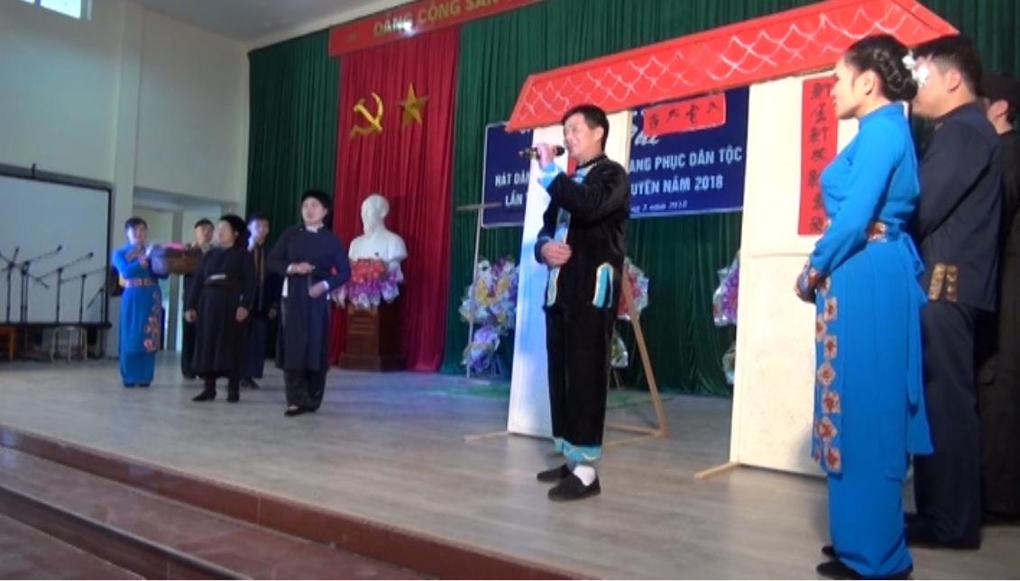 Quảng Uyên: Tổ chức Hội thi hát dân ca, trình diễn trang phục dân tộc lần thứ IV