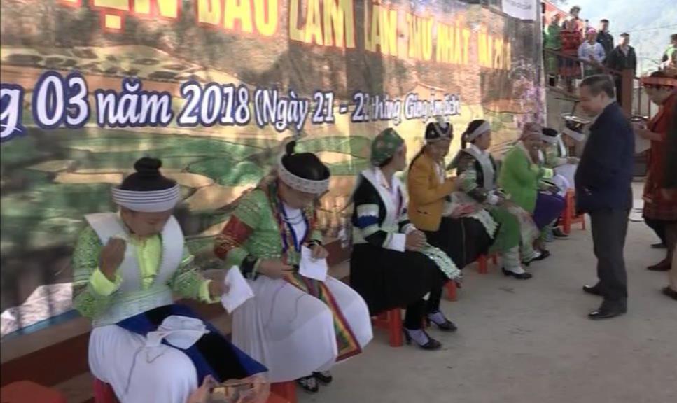 Bảo Lâm: Ngày hội Văn hóa dân tộc Mông lần thứ nhất
