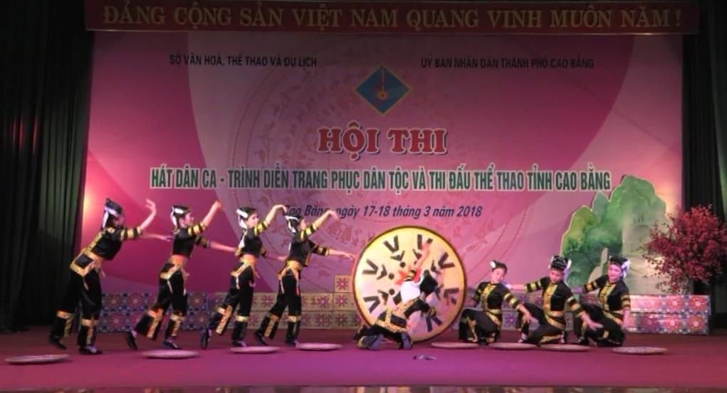 Ấn tượng Hội thi Hát dân ca - Trình diễn trang phục dân tộc và Thi đấu thể thao tỉnh Cao Bằng năm 2018