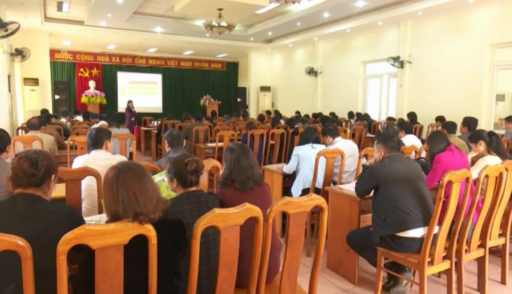 Triển khai công tác du lịch và tập huấn về Công viên địa chất non nước Cao Bằng năm 2018
