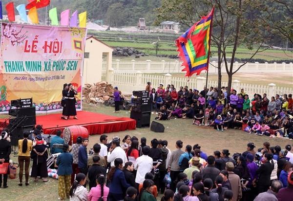 Quảng Uyên: Lễ hội Thanh Minh xã Phúc Sen