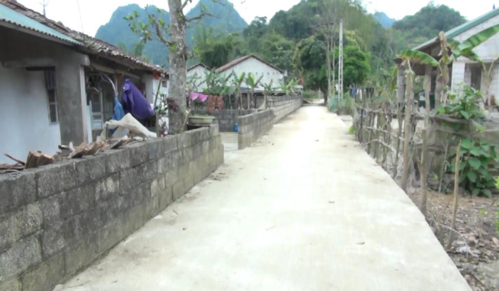 Xã Độc Lập nỗ lực xây dựng nông thôn mới