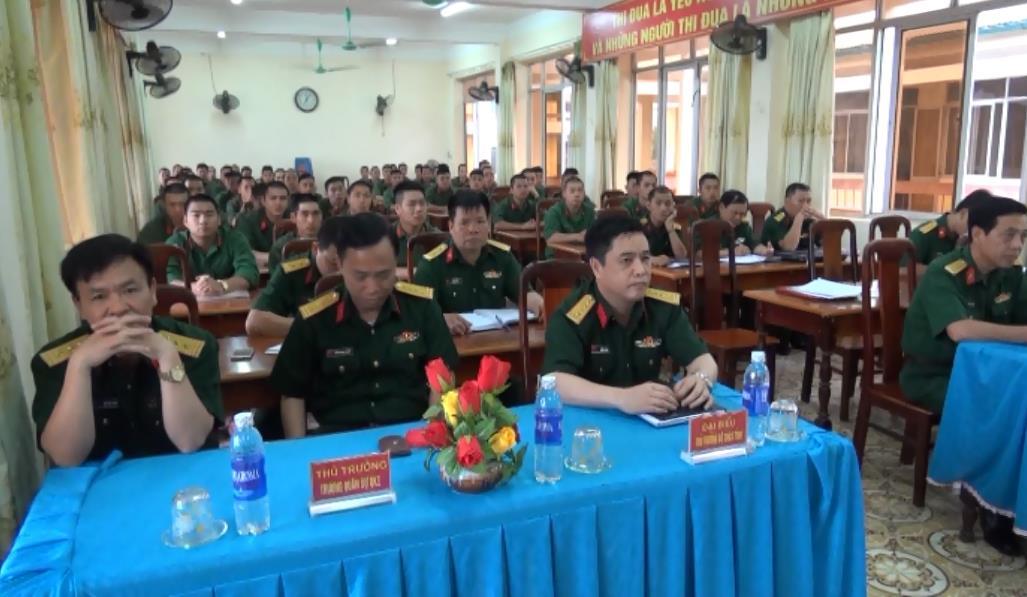 Trường Quân sự tỉnh: Khai giảng lớp đào tạo sĩ quan dự bị bộ binh khóa 5