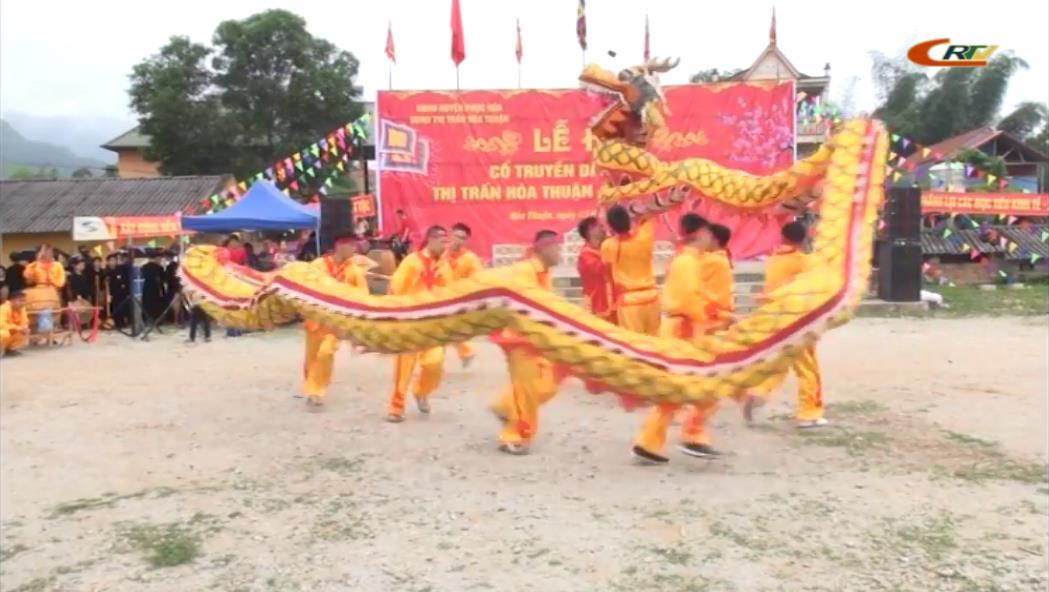 Lễ hội truyền thống huyện Phục Hòa năm 2018