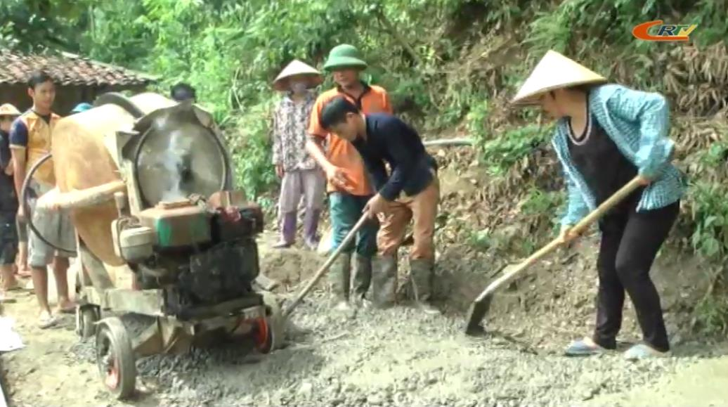 Bảo Lạc: Xã Bảo Toàn đạt 7 tiêu chí nông thôn mới