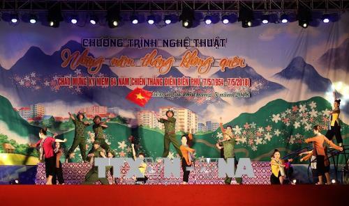 Tưng bừng kỷ niệm 64 năm Chiến thắng Điện Biên Phủ