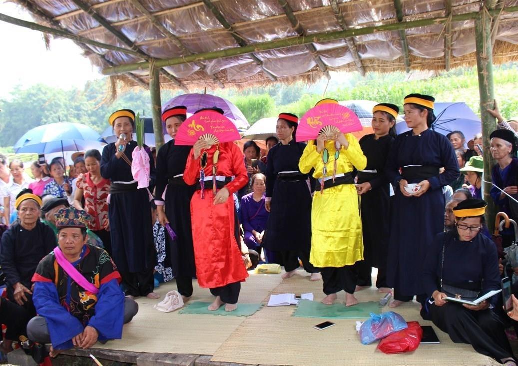 Lễ hội Nàng Hai đón bằng Di sản văn hóa phi vật thể quốc gia