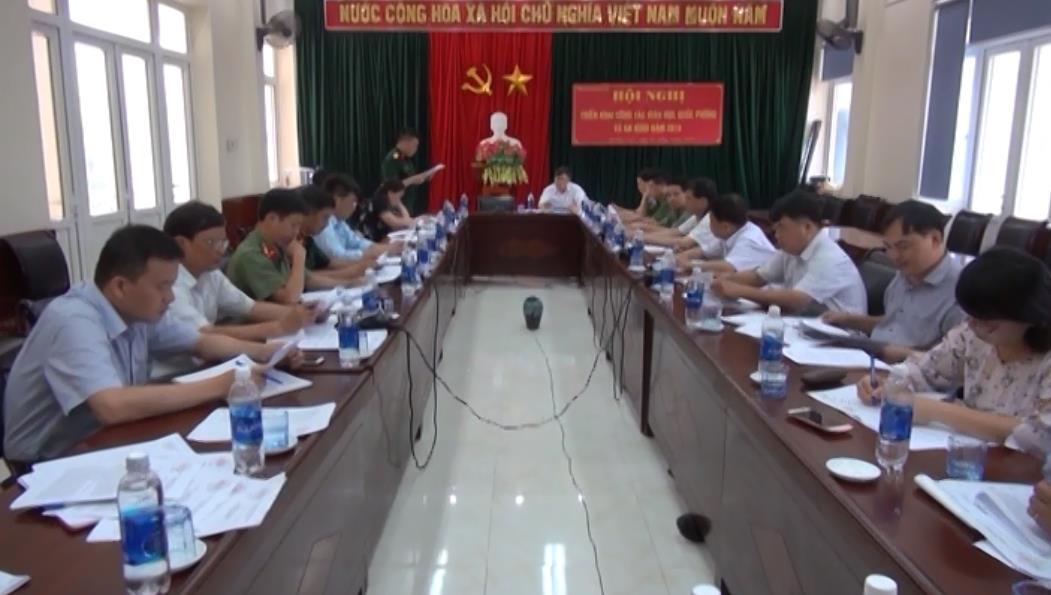 Quảng Uyên: Triển khai công tác giáo dục quốc phòng - an ninh năm 2018