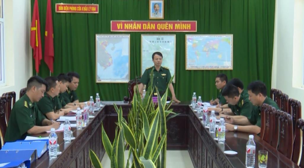 Đảng ủy BĐBP tỉnh Cao Bằng:  Kiểm tra việc quán triệt, học tập thực hiện Nghị quyết Trung ương 4 (khóa XII) gắn với Chỉ thị 05-CT/TW của Bộ Chính trị
