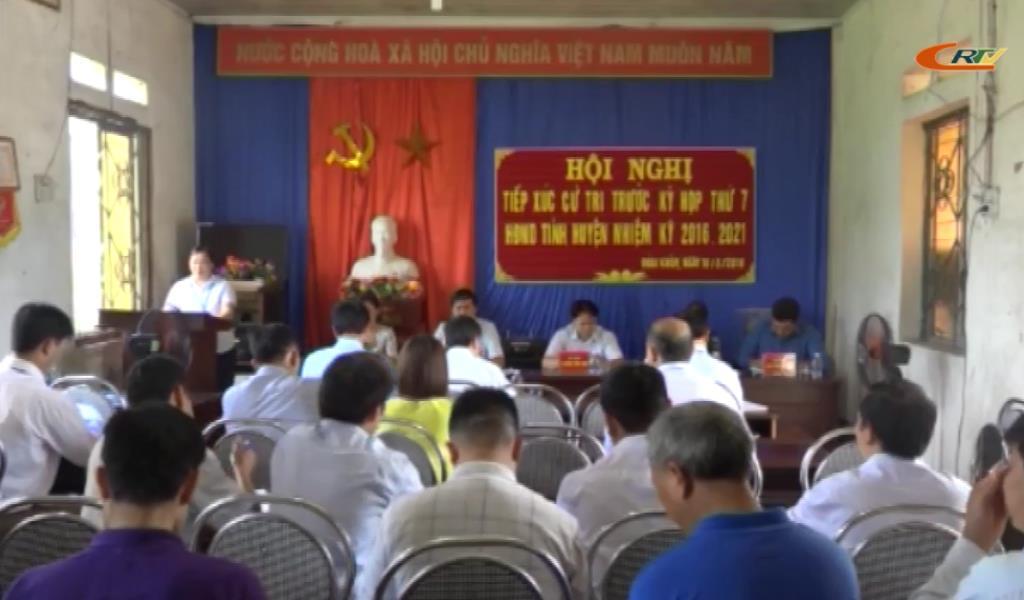 Đại biểu HĐND tỉnh tiếp xúc cử tri xã Đoài Khôn (Quảng Uyên)
